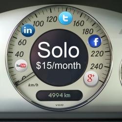Social Media Dashboard Solo Plan